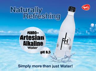 alkaline artesian water